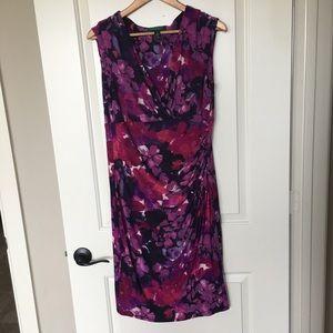 Lauren Ralph Lauren Dresses - Ralph Lauren sz 14 pink print dress
